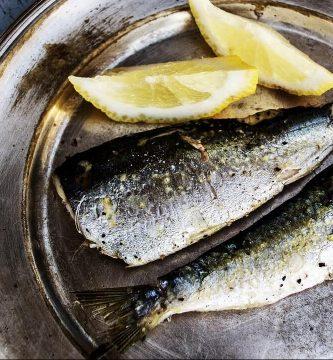 sardinas freidora sin aceite